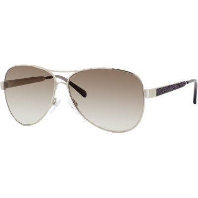 Giorgio Armani 904/S Women's Aviator Full Rim Sports Sunglasses - Light Gold/Brown Gray Gradient/Size 60/11-130