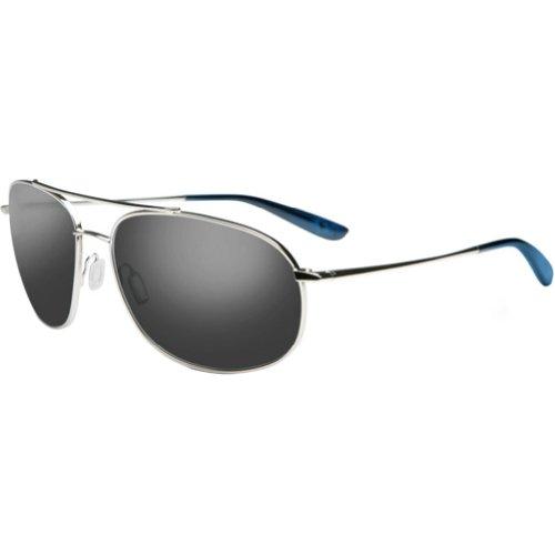 Kaenon Ballmer Polarized Aviator Sunglasses,Chrome60 mm