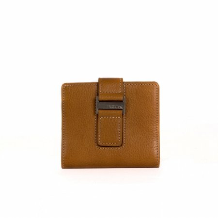 R Madison 902-4627 Kylie RFID Id Wallet in Toast (Collection Madison Leather)