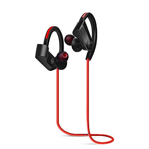 Bluetooth Headphones IPX5 Waterproof, Richer Bass Stereo Wireless Sport Earphones, 10-12H Battery Noise Cancelling Earbuds w/Mic, Best Wireless Sport Headphones for Running Workout Gym