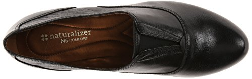 Naturalizer Lecture Slip-On Shoes Black Leather sARB6