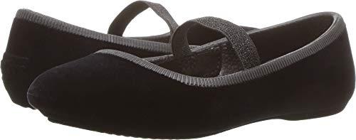 Native Kids Shoes Baby Girl's Margot Velvet (Toddler/Little Kid) Jiffy Black 9 M US Toddler