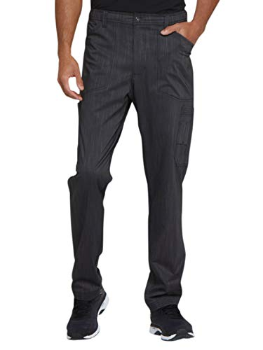 - Dickies Advance Men's Zip Fly Cargo Scrub Pant Medium Onyx Twist