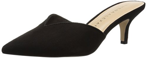 Athena Alexander Women's Jasper Heeled Sandal, Black Suede, 9 M US