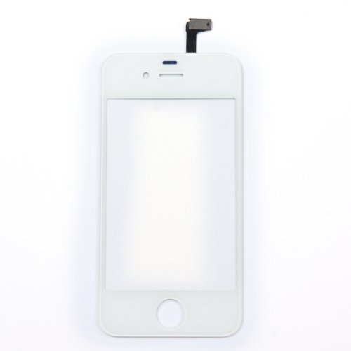 Touch Screen Digitizer Glass for iPhone 4 4G (White) - 4