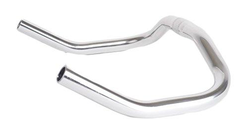 Retrospec Bicycles Pursuit Bull Horn Style Lightweight Alloy Handlebars for Track Bike