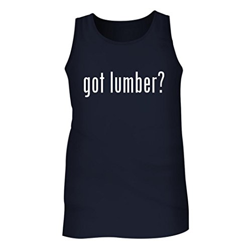 Tracy Gifts Got Lumber    Mens Adult Tank Top  Navy  X Large
