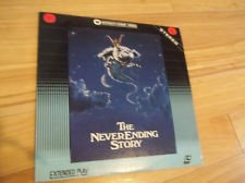 THE NEVER ENDING STORY - LASERDISC - 1984 - NOAH HATHAWAY