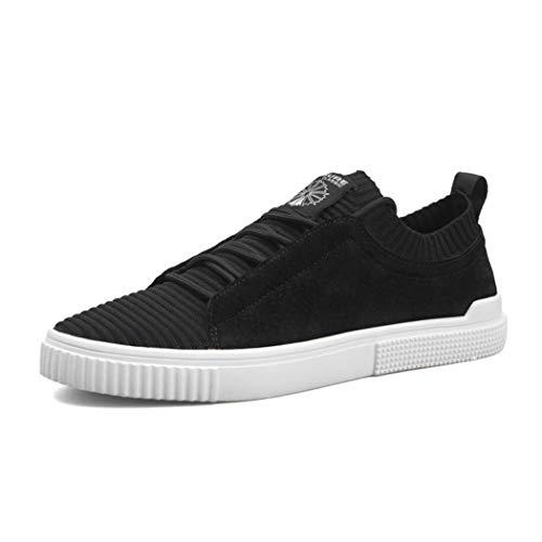 Coreano Placa Moda Libre Zixuap Al Tendencia Primavera Salvaje Estudiante 40 Cuero Aire Hombres Deportes Zapatos Zapatos Confort c Casual xHq78qBwf0