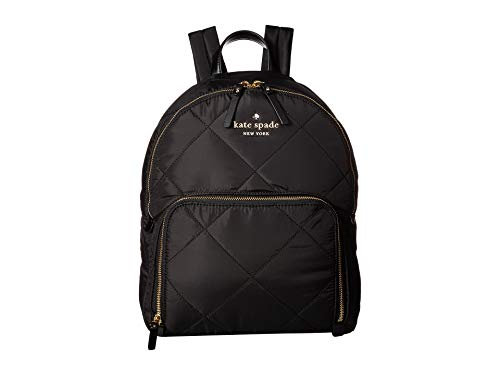 Kate Spade New York Women's Watson Lane Quilted Hartley Backpack, Black, One Size (Kate Spade Baby Backpack)