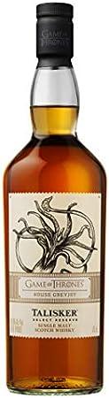 Talisker Select Reserve - Whisky escocés puro de malta - Edición limitada Juego de Tronos: Casa Greyjoy, 700 ml