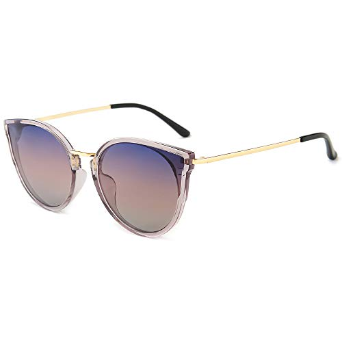 SUNGAIT Mujeres Gafas de Sol de Gran Tamaño Ojo de Gato Polarizadas Vintage UV-Protección Gafas a buen precio