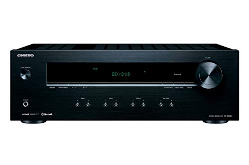 Onkyo TX-8220 2 Channel Stereo Receiver with Bluetooth (Renewed)
