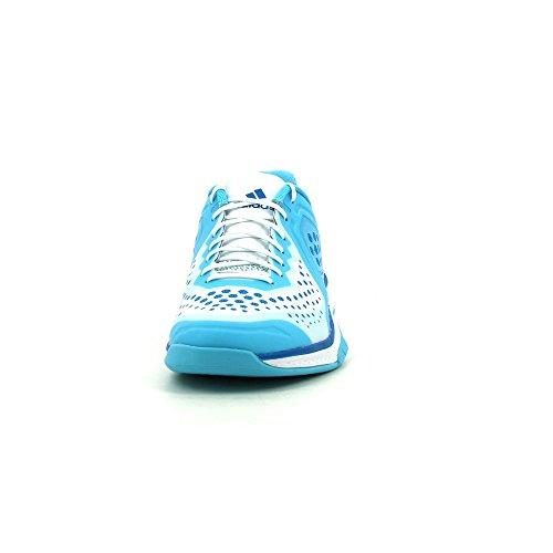 Adidas Performance Scarpe da pallamano da donna, colore: bianco/blu