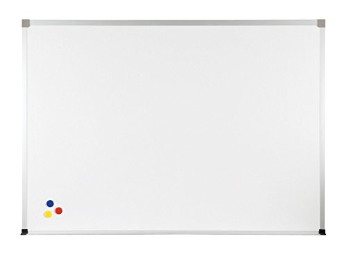 Balt Porcelain Steel Magnetic Bulletin Markerboard ABC Trim 2'H x 3'W electronic consumers by Brandz
