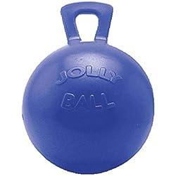 "Horsemen's Pride 10"" Horse Jolly Ball Blue"