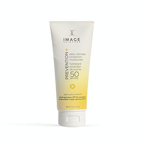 Image Skincare Prevention+ Daily Ultimate Protection SPF 50 Moisturizer, 3.2 Ounce