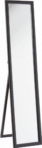 不二貿易 鏡面 スタンド ミラー ブラック HB-8260N BK 83087 B0056EKMLW ブラック ブラック