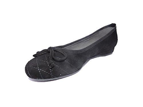 Flat Weitzman Stuart Heel - Stuart Weitzman Womens Quilt Black Suede Low Wedge Heels Flat Shoes Size 9 M