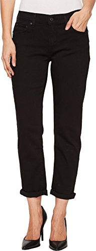 Levi's Women's New Boyfriend Jean, Soft Black, 28 (US 6)