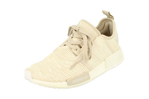 (adidas Originals NMD_R1 Womens Running Trainers Sneakers (UK 8 US 9.5 EU 42, Linen Off White CG2999))