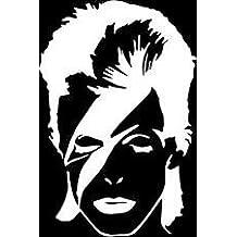 David Bowie Face Vinyl Car/Laptop/Window/Wall Decal