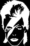 david bowie decal - David Bowie Face Vinyl Car/Laptop/Window/Wall Decal