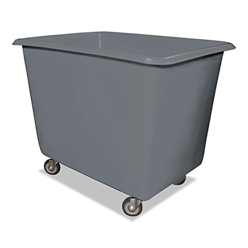Royal Basket Trucks R12GRXPG4UN 12 Bushel Poly Truck with Galvanized Steel Base, 30