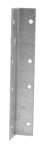 Angle Stair - USP Structural Connectors SCA10-TZ G185-Triple Zinc Galvanized Stair Case Angle, 10-Inch