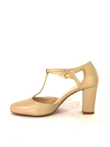ZETA para Zapatos Piel vestir SHOES de TóRTOLA de mujer gqYwrq1a