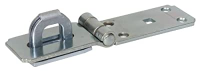 The Hillman Group 851415 7-1/4-Inch Heavy Duty Fixed Staple Safety Hasps
