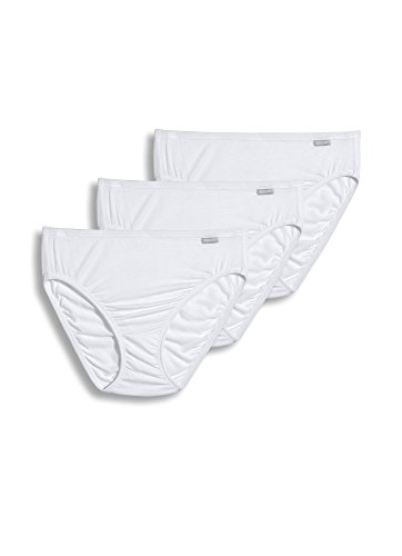 Jockey Women's Underwear Supersoft French Cut - 3 Pack, White, ()