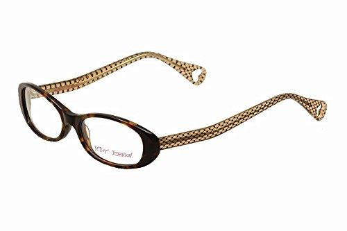 (Betsey Johnson Women's Eyeglasses Tutu Sweet BJ013 BJ/013 02 Espresso Full Rim Optical Frame 52m )