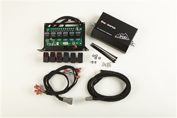 sPod 800-00-000 - 6 Switch and Source System Includes Switches for 05-12 Toyota Tacoma 2 Red, 2 Amber, 2 Green