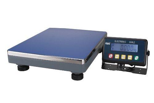 GundG PSE75K - Bilancia digitale compatta a piattaforma, per industria, 75kg/5g, utilizzabile a batteria