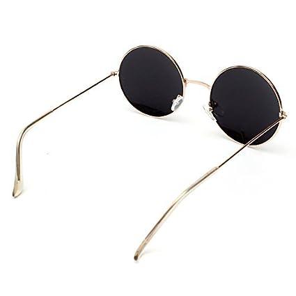 Gafas de sol, 8 m gafas de sol para mujer redonda Retro Ray ...