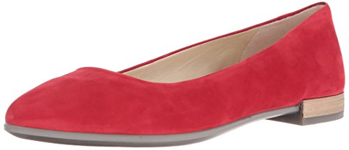 Rosso Shape Mocassini Pointy Ballerina chili Ecco Red Donna XUqP4Cxw