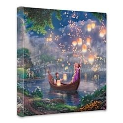 Thomas Kinkade Tangled 14x14 Gallery Canvas Wrap ()