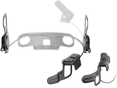 SENA 10U Motorcycle Bluetooth Communication System with Handlebar Remote for Shoei J-Cruise Helmets, 10U-SH-03