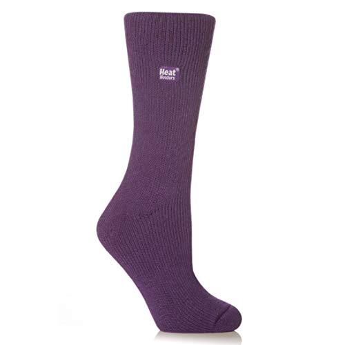 Heat Holders Thermal Socks, Women's Original, US Shoe Size 5-9, Purple (Best Sock Yarn Review)