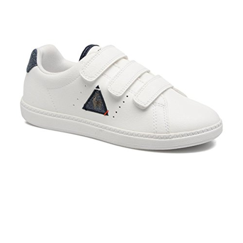 Le Coq Sportif Courtone PS Lea/2 Tones Optical White 1720113, Turnschuhe