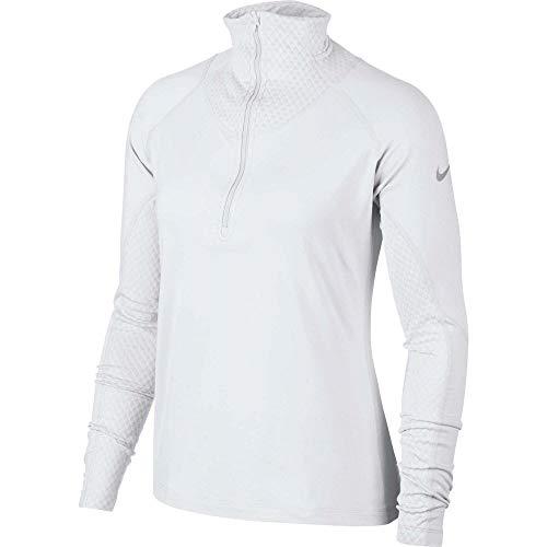 解放中断まさに(ナイキ) Nike レディース ランニング?ウォーキング トップス Nike Pro Warm Half-Zip Running Shirt [並行輸入品]