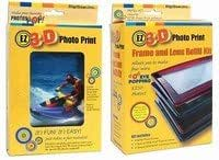 EZ3D Photo Print Combo Pack : DIY 3D Lenticular Photo Birthday Christmas Unique Gadget Gift (Platform: WIN 98/ME/2000/XP/VISTA)