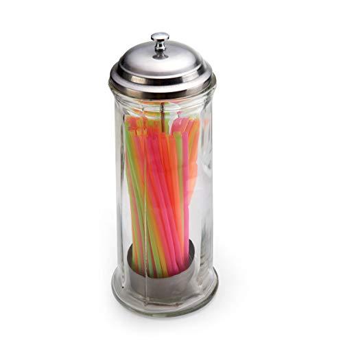Gemco 5078621 Jumbo Straw Dispenser, One Size, Clear