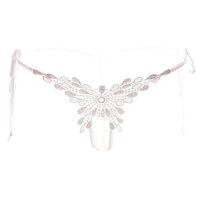 Rey&Qing Bandage String Lace Thong Sous-Vêtement