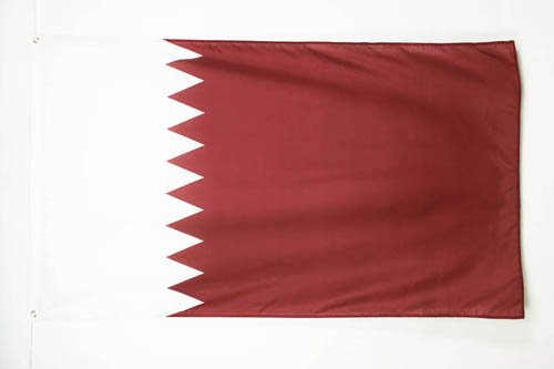 QATAR FLAG 3' x 5' - QATARI FLAGS 90 x 150 cm - BANNER 3x5 ft - AZ FLAG