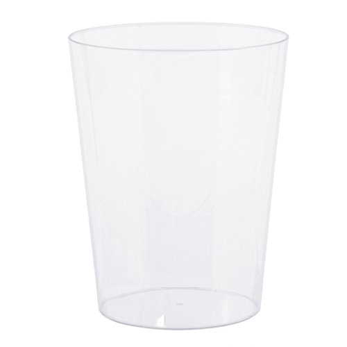 Amscan International Candy Buffet Clear Plastic Large Cylinder Containers, 6 Pack