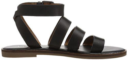 Sandal Women's Kyson Franco Sarto Black Flat qZx4Wg1w