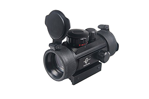 Red Green Dot Sight 1x40mm Scope with 11mm/ 20mm Rail Mount