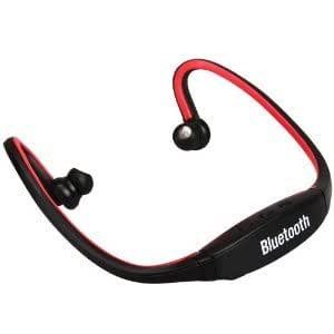 Bluetooth wireless Headset With Micro SD Card slot compatible with Panasonic P55 NOVO